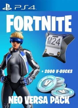 Pack Pavos Fortnite Neo Versa PS4 barato - 2000 pavos