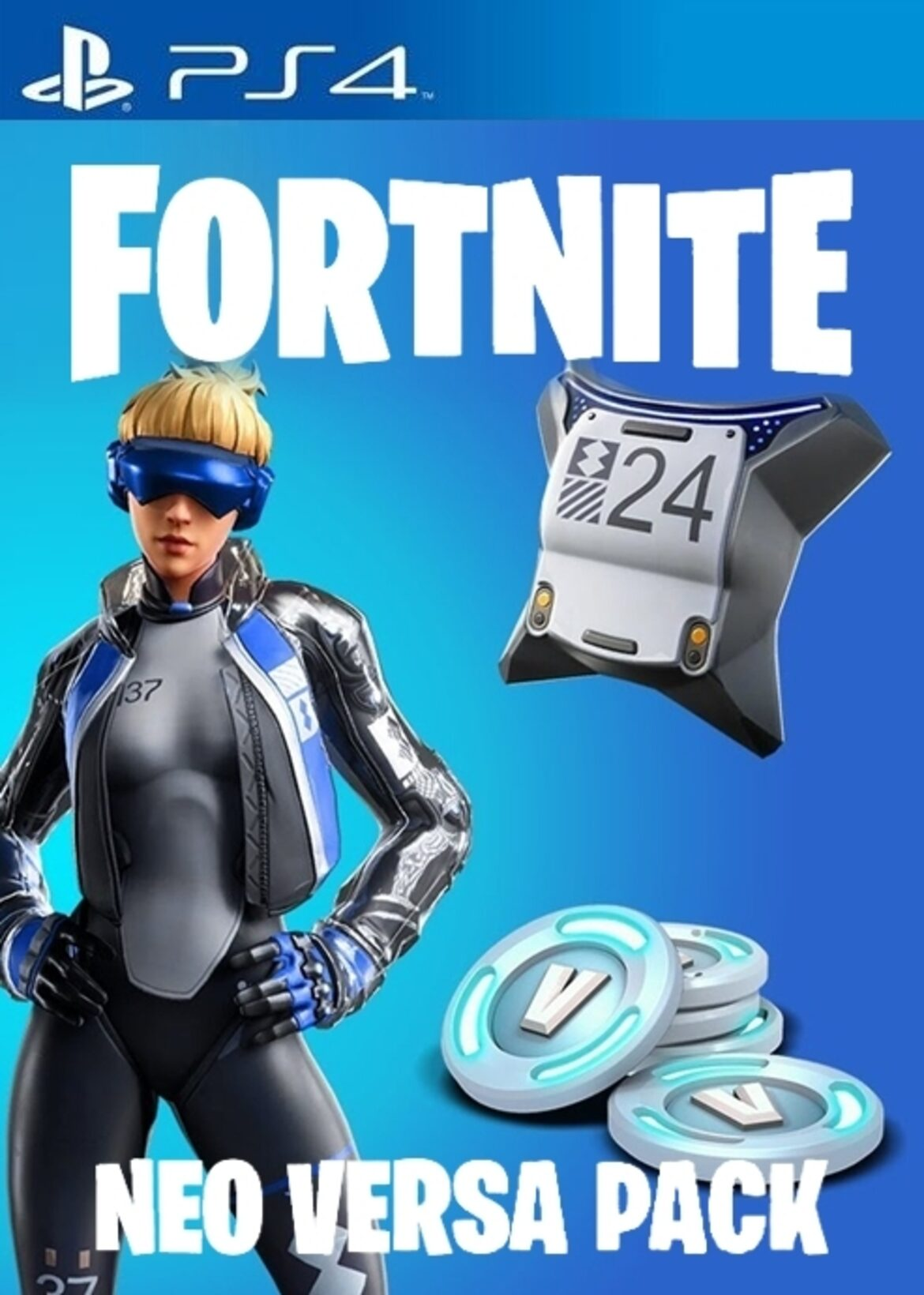 Pack Pavos Fortnite Neo Versa PS4 barato